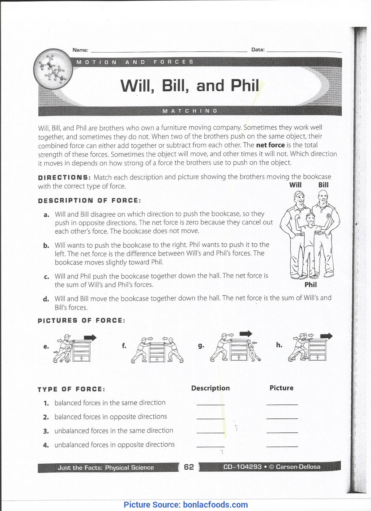 Scientific Method Worksheets 5th Grade Excellent 3rd Grade Lesson Plans force and Motion 5th