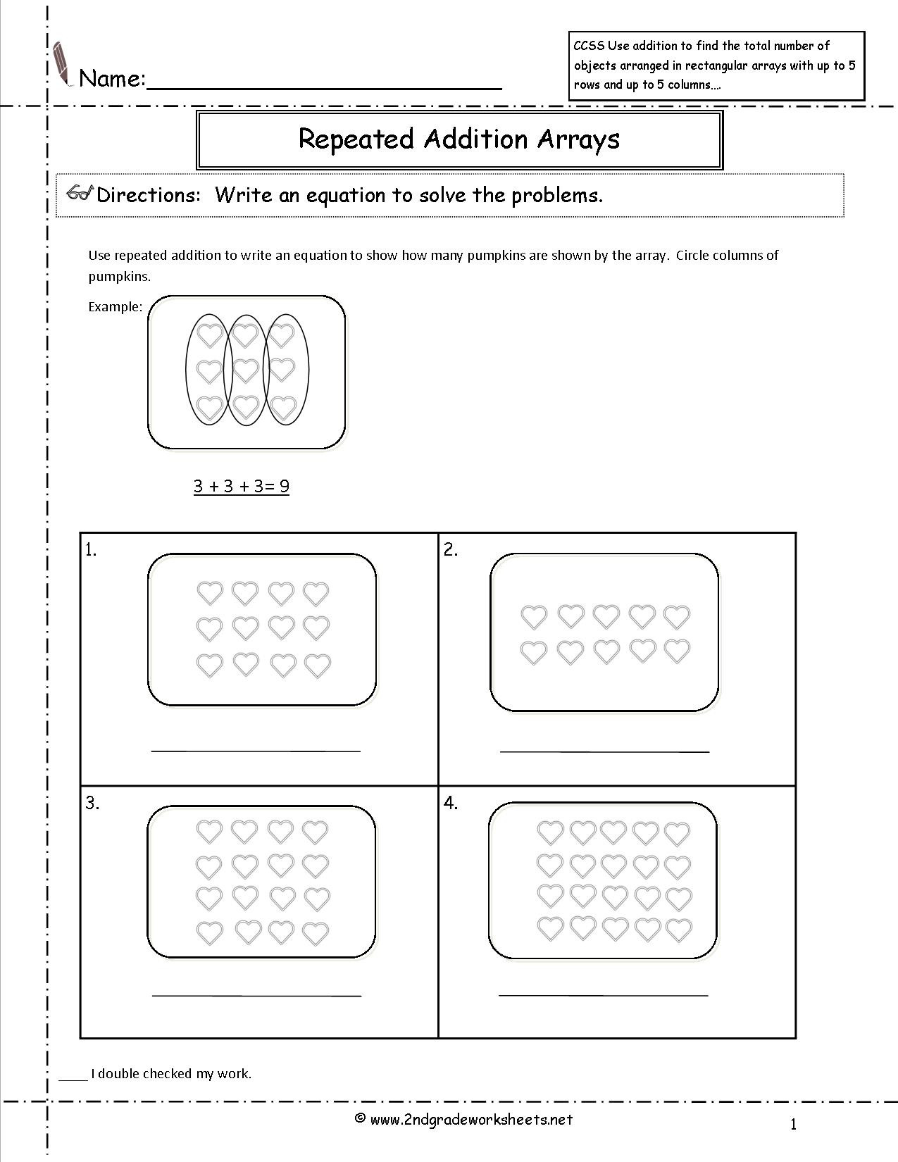 Second Grade Geometry Worksheets Lesson Plan for Math December Coloring Pages Core Standards