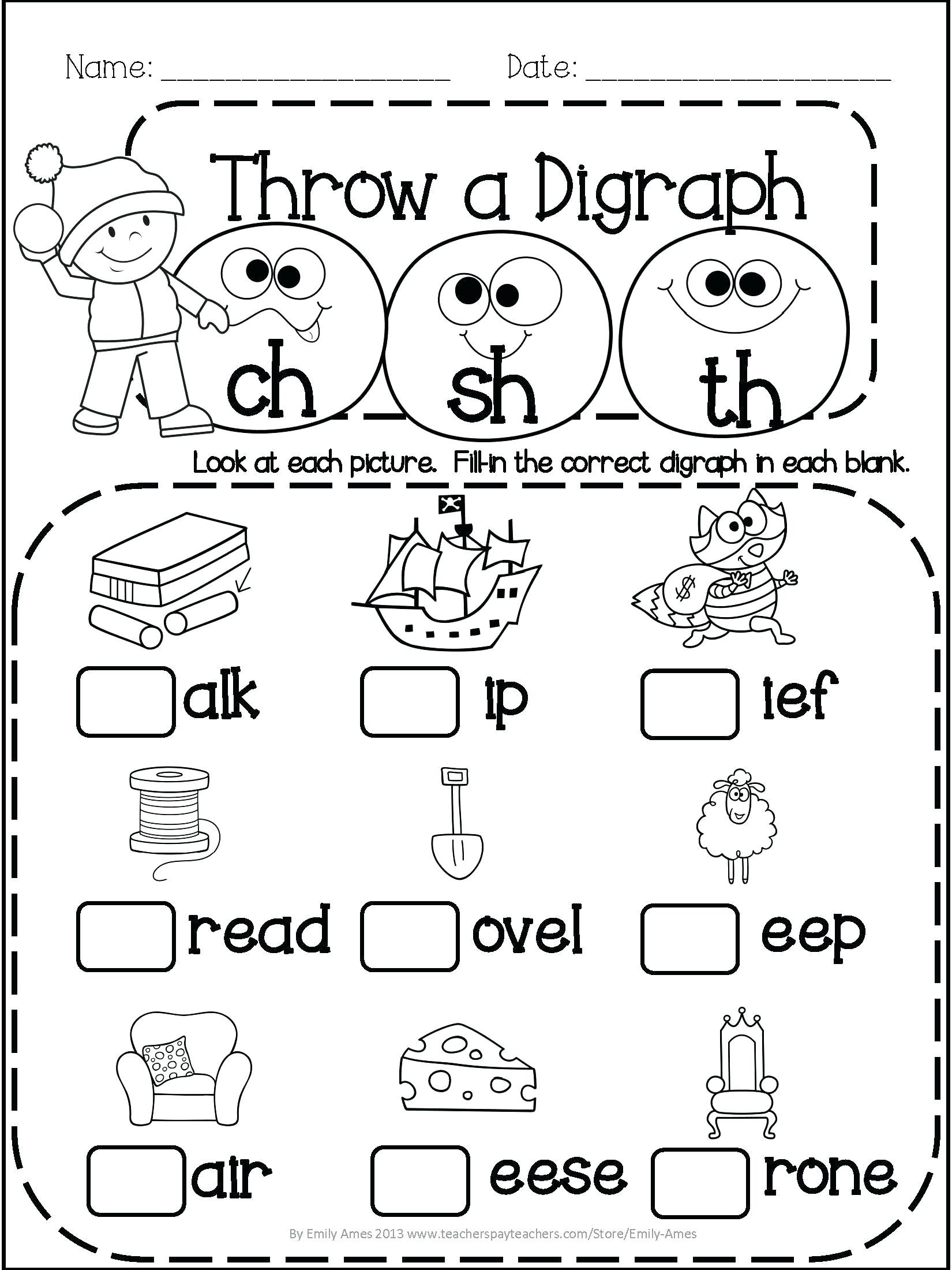 Second Grade Science Worksheets Free Math Worksheet 40 Reading Prehension Games for 2nd