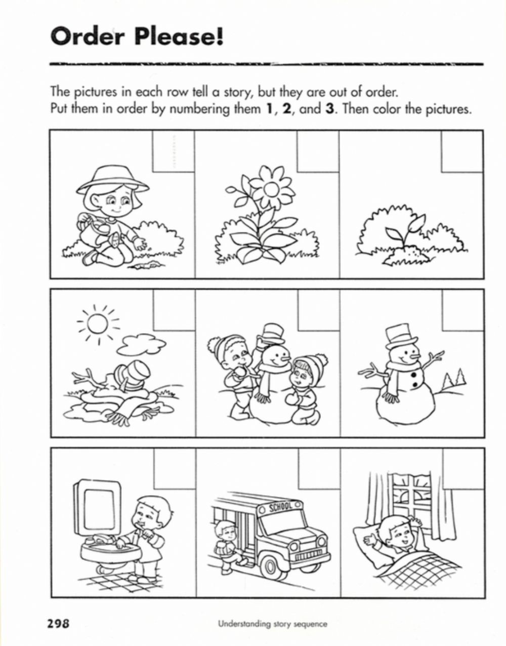 Sequencing events Worksheets Grade 6 Sequences Of events Interactive Worksheet