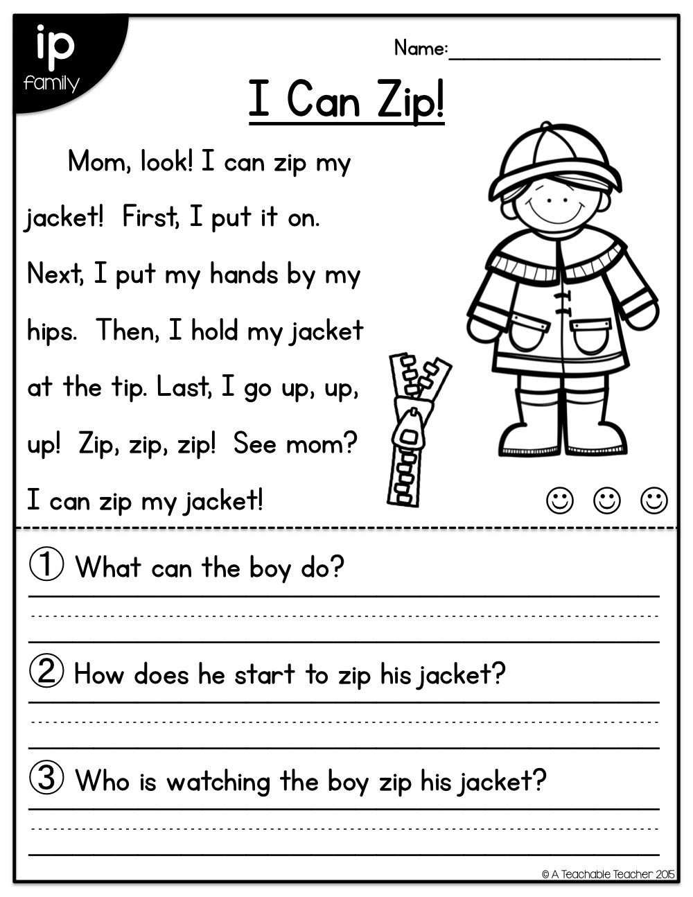 Short A Worksheet First Grade Short Vowel Reading Passages All In E Distance Learning