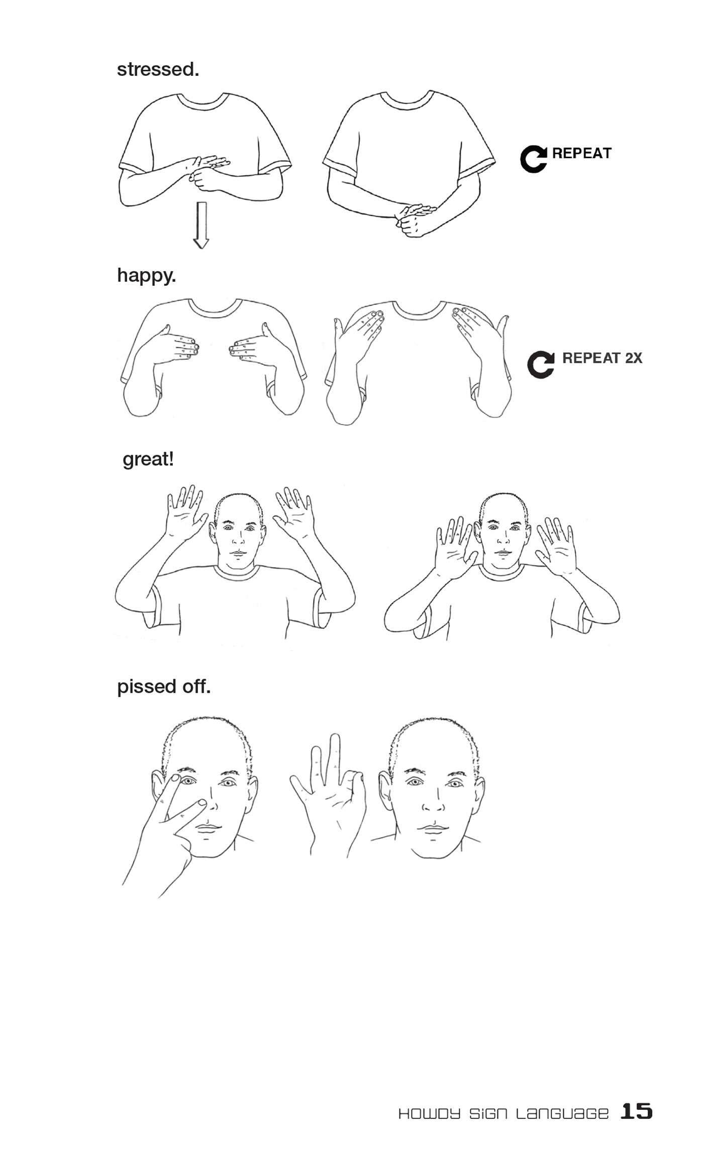 """Sign Language Poster Printable Amazon Dirty Sign Language Everyday Slang From """"what S"""
