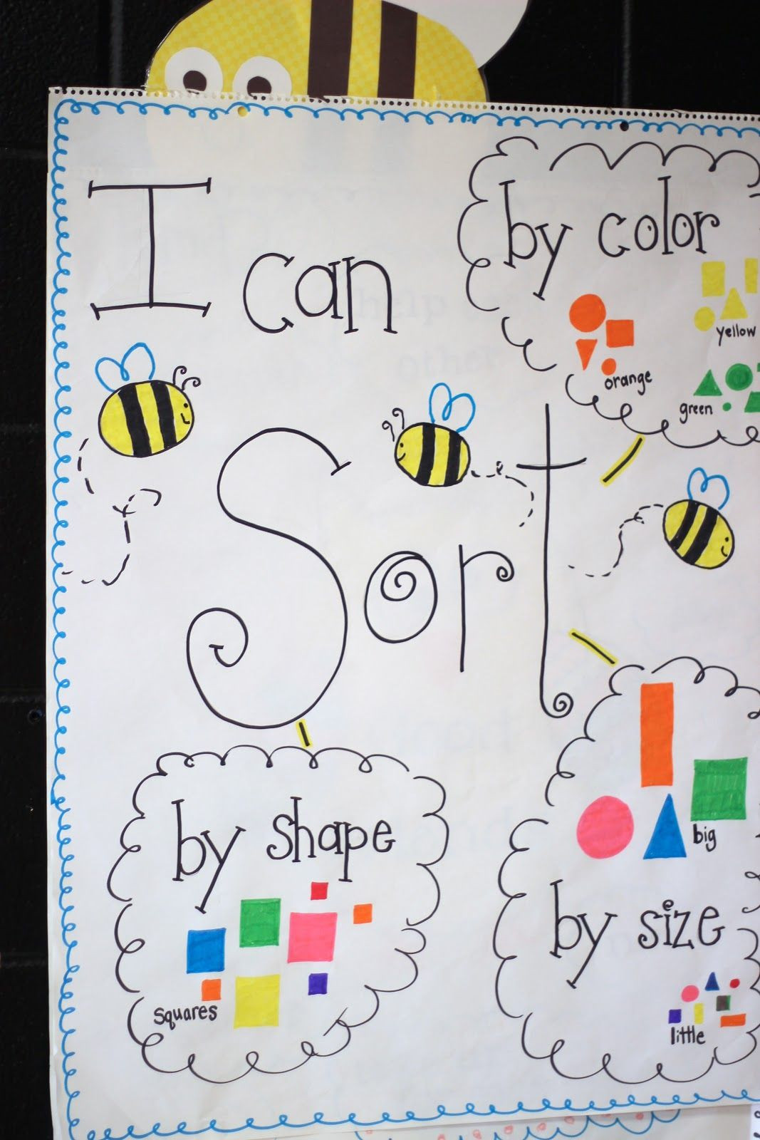 Sorting Shapes Worksheets First Grade First Grade Blue Skies More sorting Shapes & Freebie