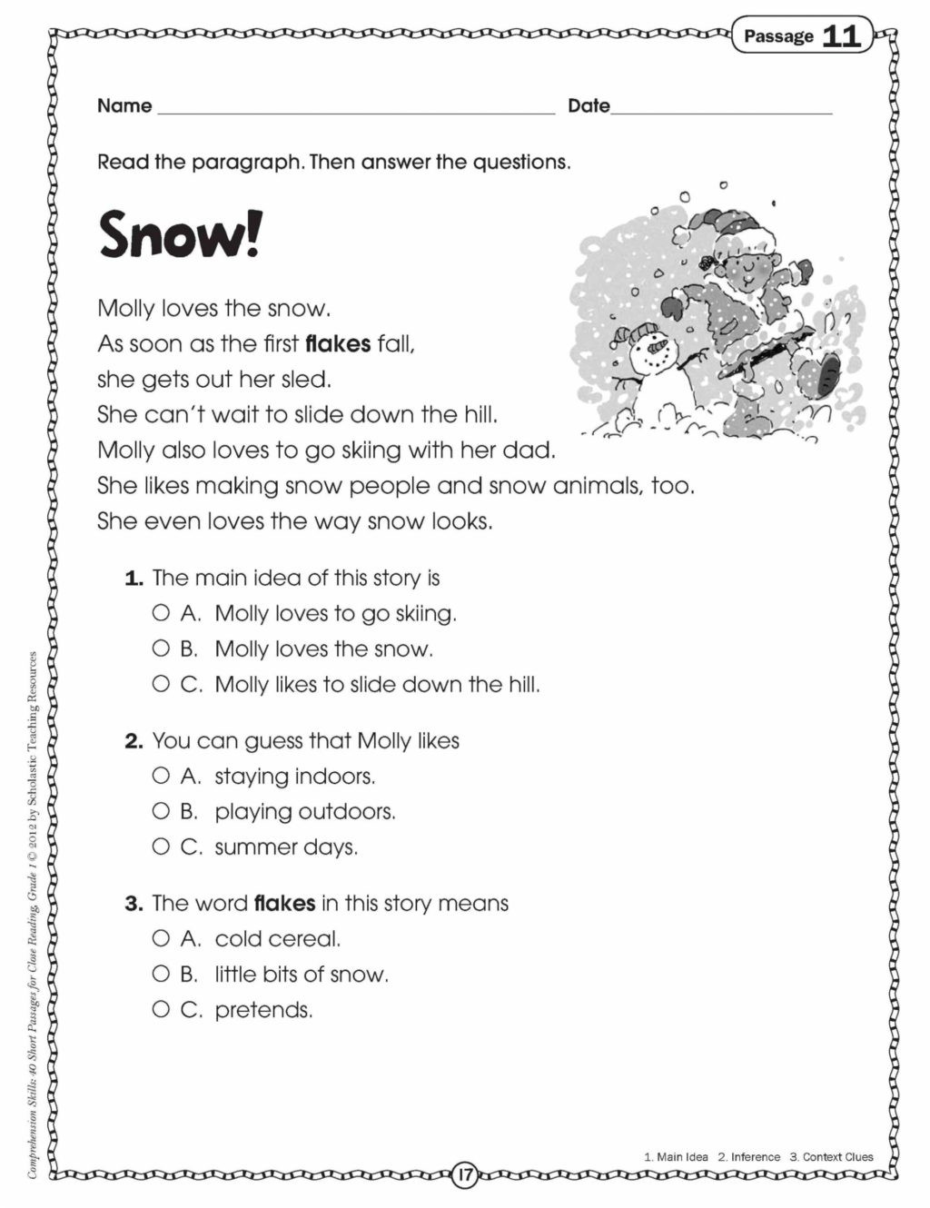 Spelling Worksheets 3rd Grade Worksheet 4the Spelling Words Reading Passages with