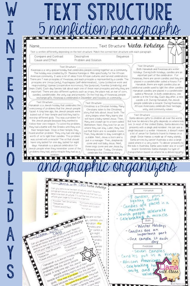 Text Structure 5th Grade Worksheets A Great Way to Practice Text Structure with Nonfiction
