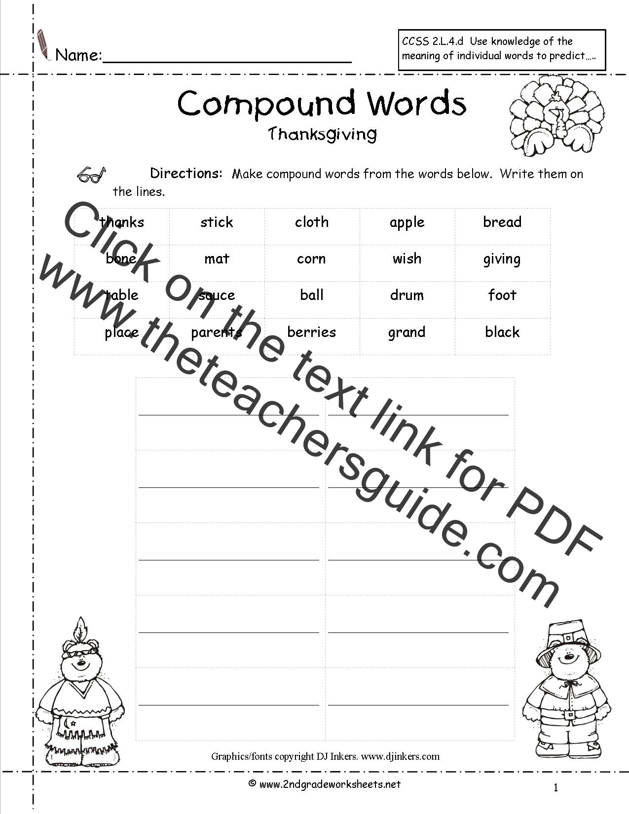 Thanksgiving Math Worksheets Middle School Thanksgiving Printouts and Worksheets Free Math for Second