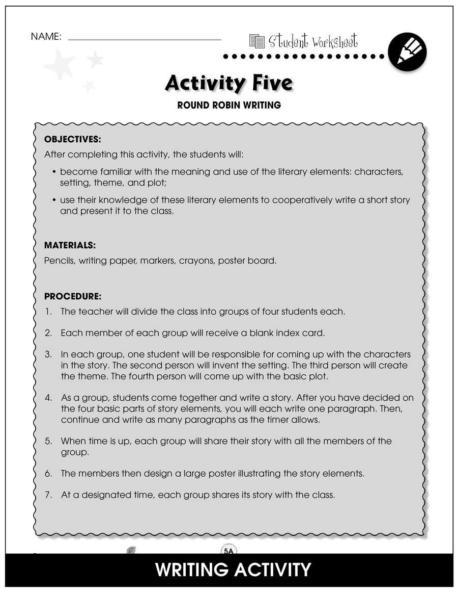 Theme Worksheets Grade 5 Literary Devices Bonus Worksheets Grades 5 to 8 Ebook