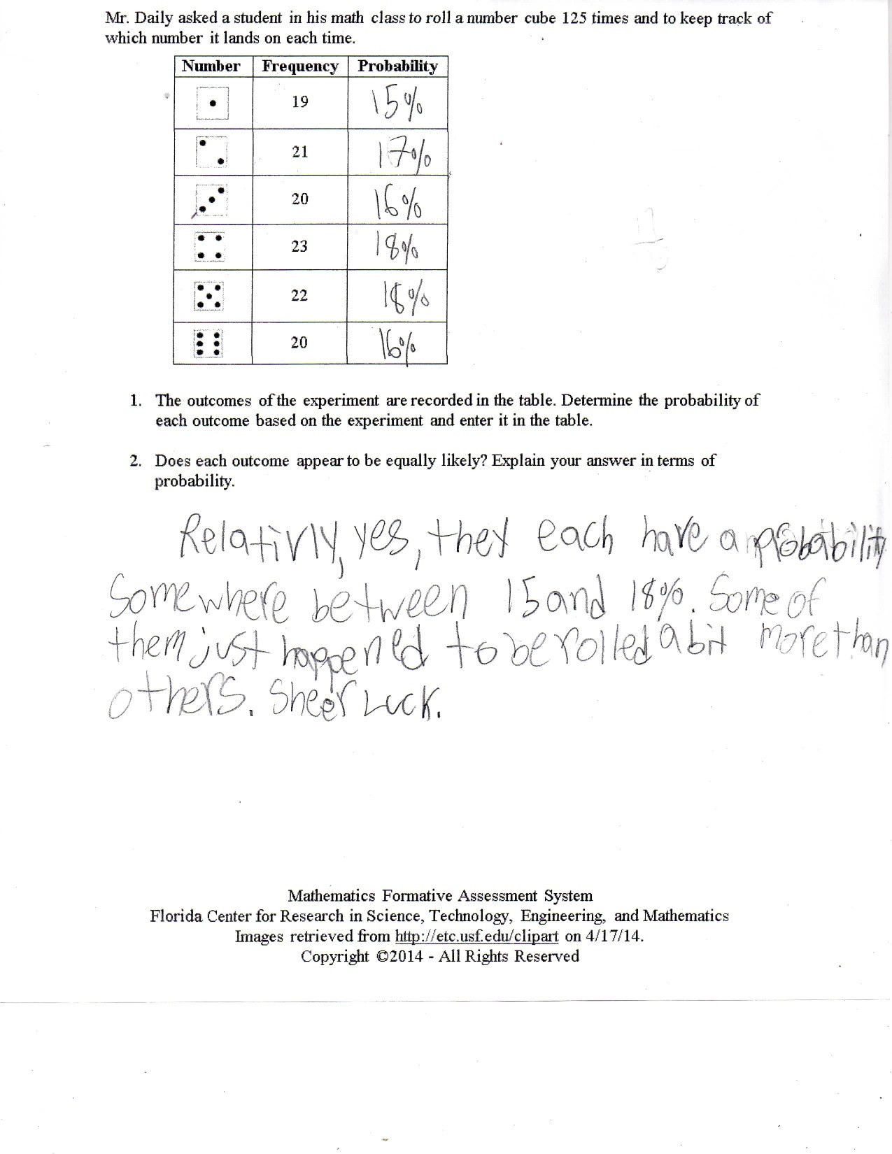 Theoretical Probability Worksheets 7th Grade theoretical Probability Worksheet 7th Grade
