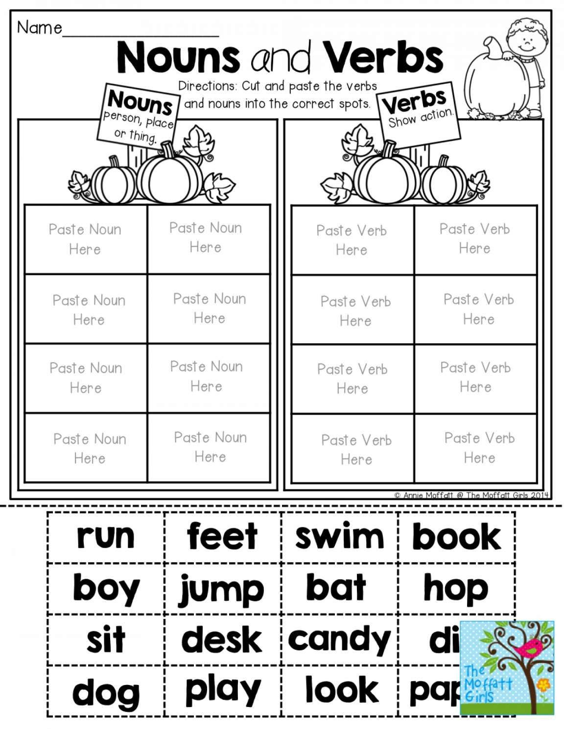 Verb Tense Worksheets 1st Grade Pin On English
