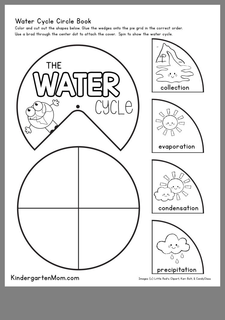 Water Cycle Worksheets 2nd Grade Pin by W On Water