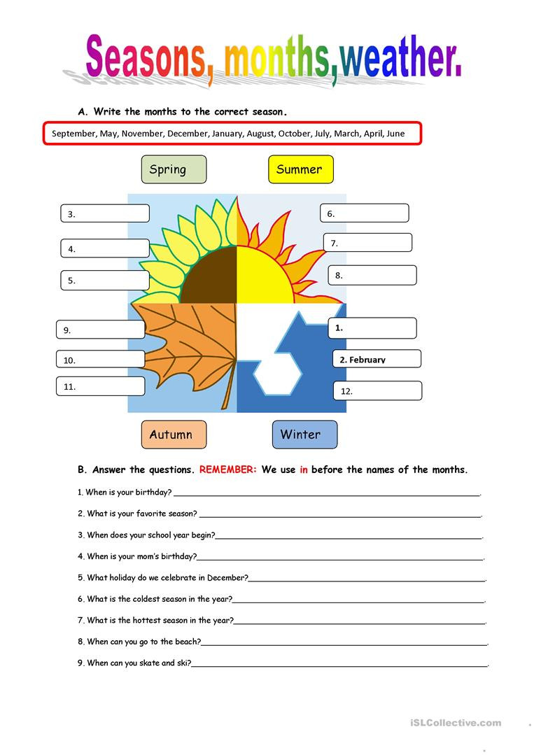 Weather Worksheets for 3rd Grade English Esl Weather Worksheets Most Ed 540 Results