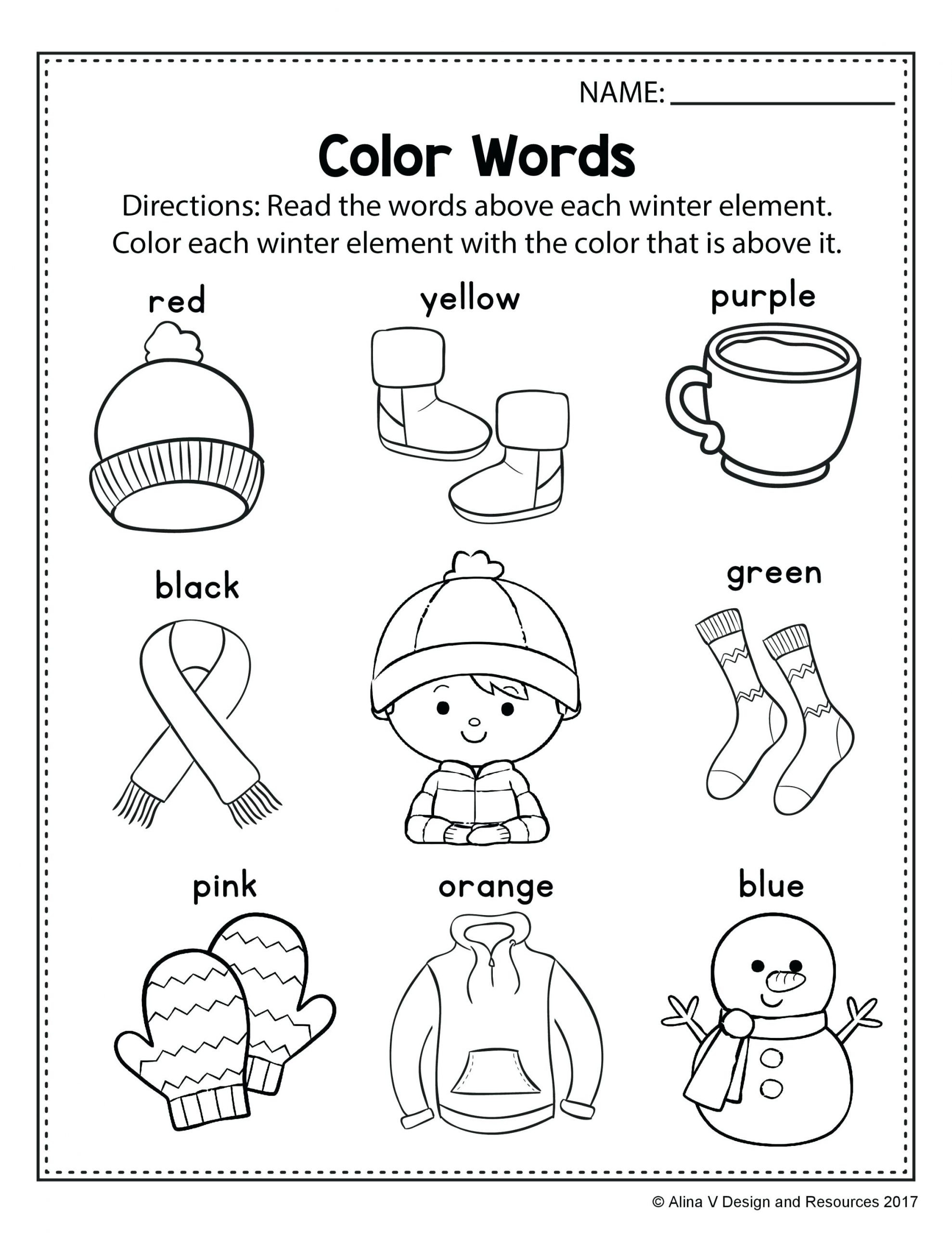 Weather Worksheets for First Graders Best Coloring Spring Weather Pages for Kids with Winter