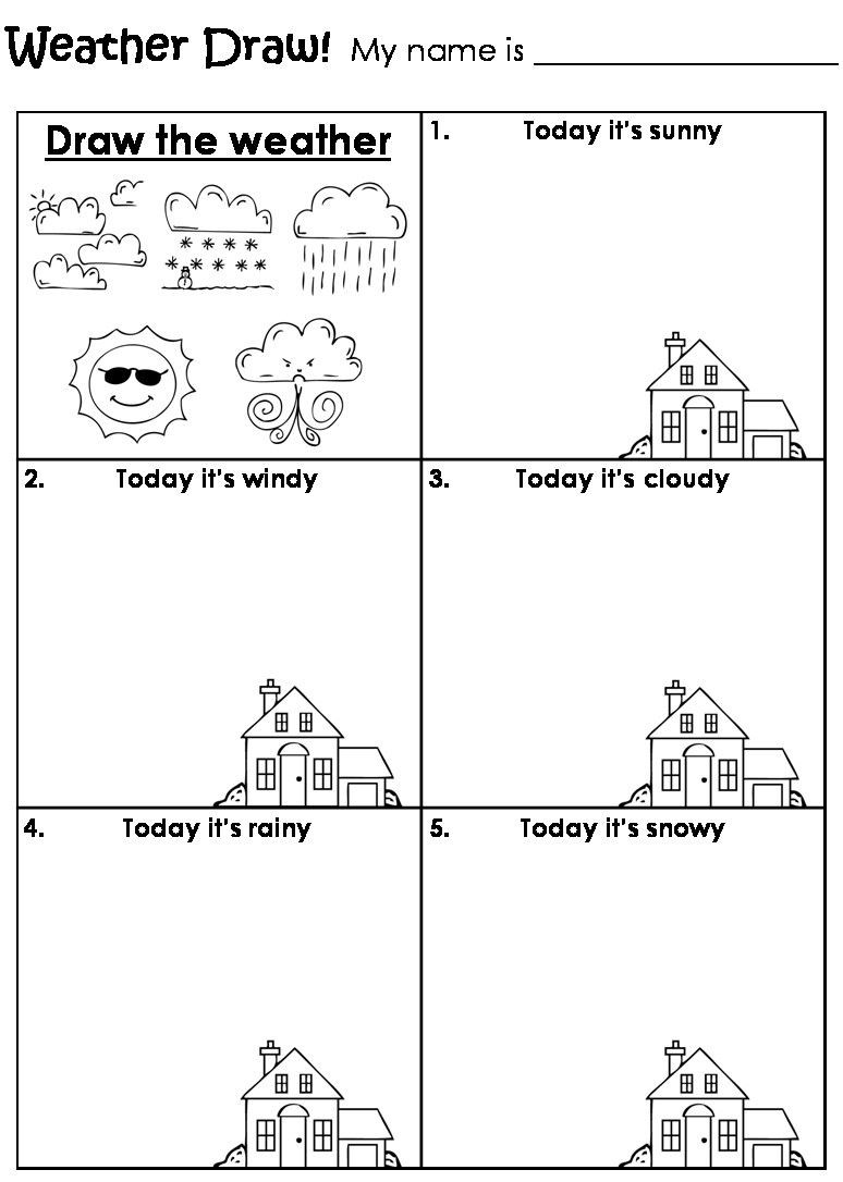 Weather Worksheets for First Graders Worksheet Weather