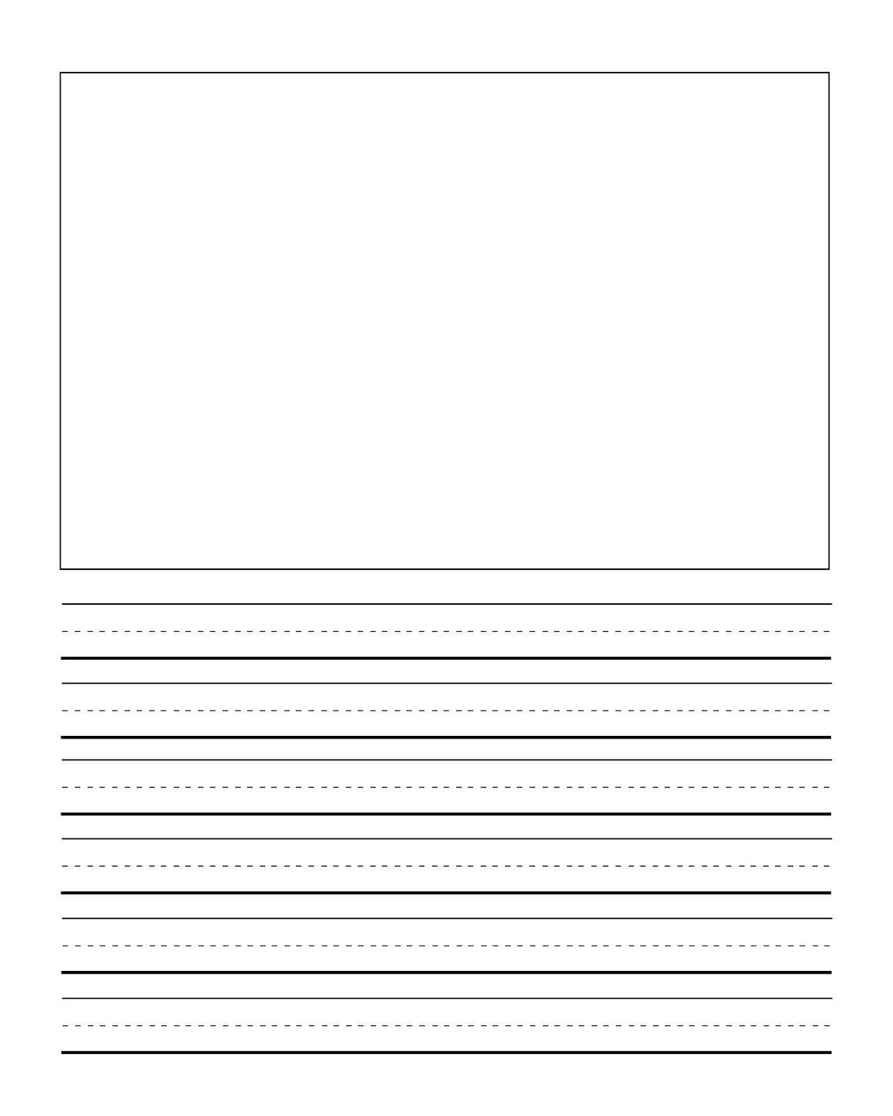 Writing Sheets for 1st Graders First Grade Writing Mini Lessons First Grade Back to School