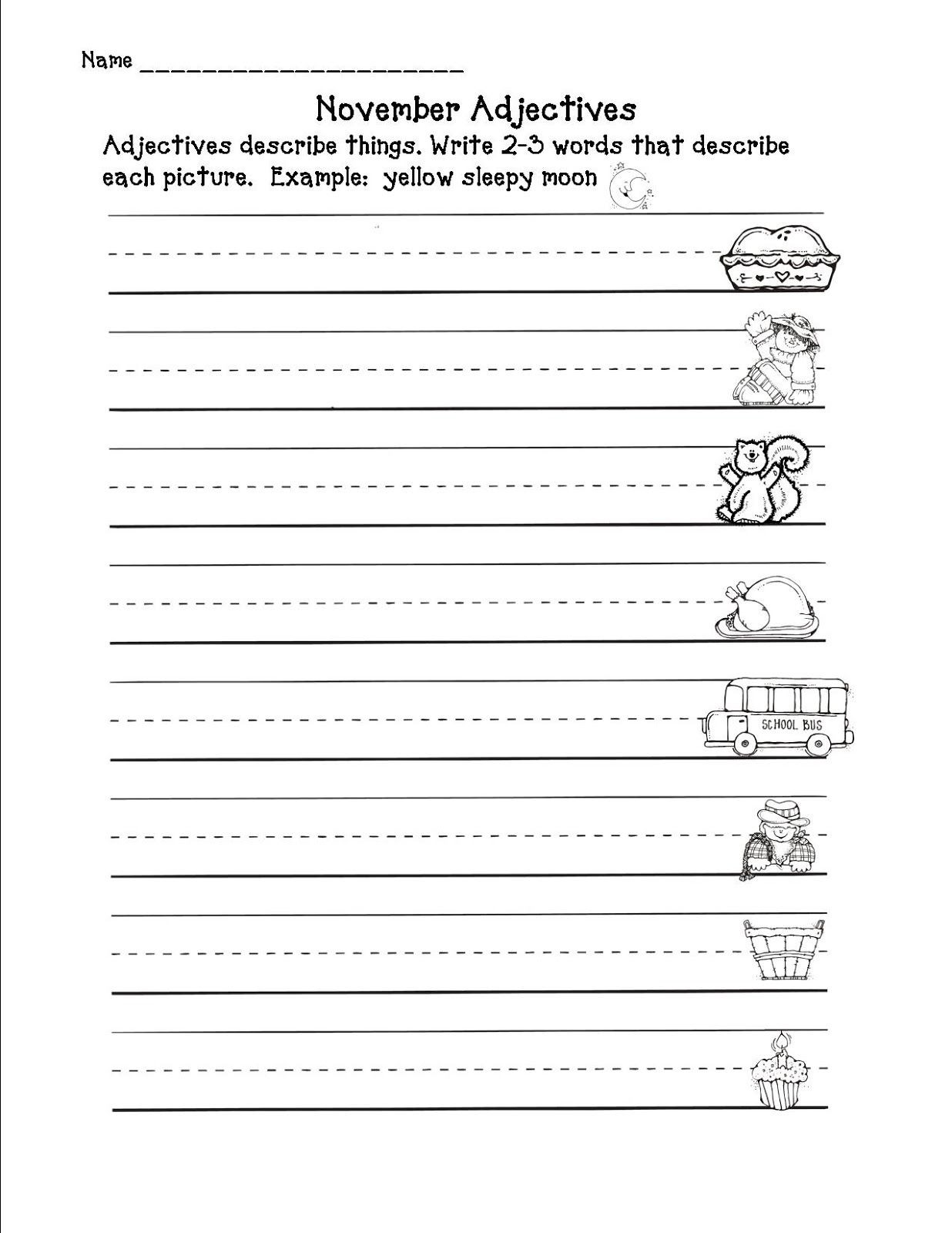 Writing Worksheet 2nd Grade Step Into 2nd Grade with Amy Lemons