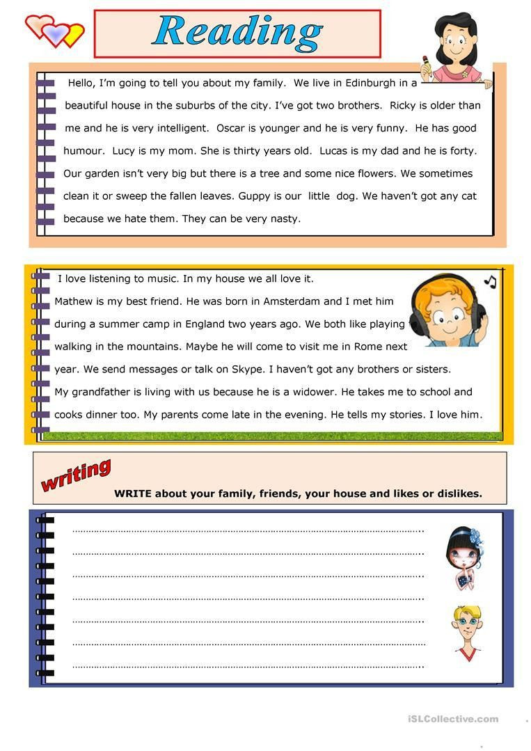 Writing Worksheets for 7th Grade 3 Reading and Writing Worksheets for 7th Grade In 2020
