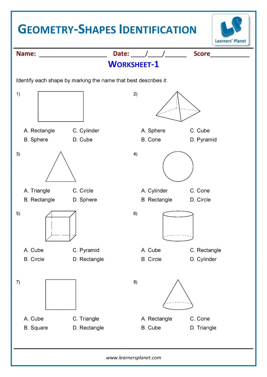 3rd Grade Geometry Worksheets Pdf Geometry Worksheets for 3rd Grade Students