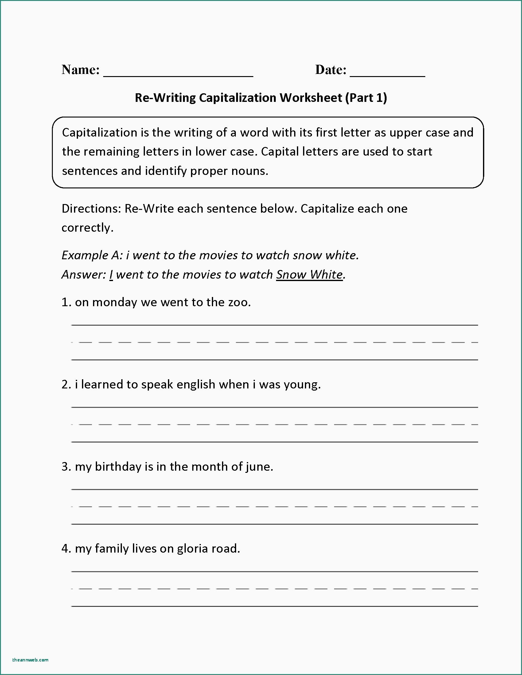 4th Grade Paragraph Writing Worksheets Free Printable Number Tracing and Writing 1 10 Worksheets