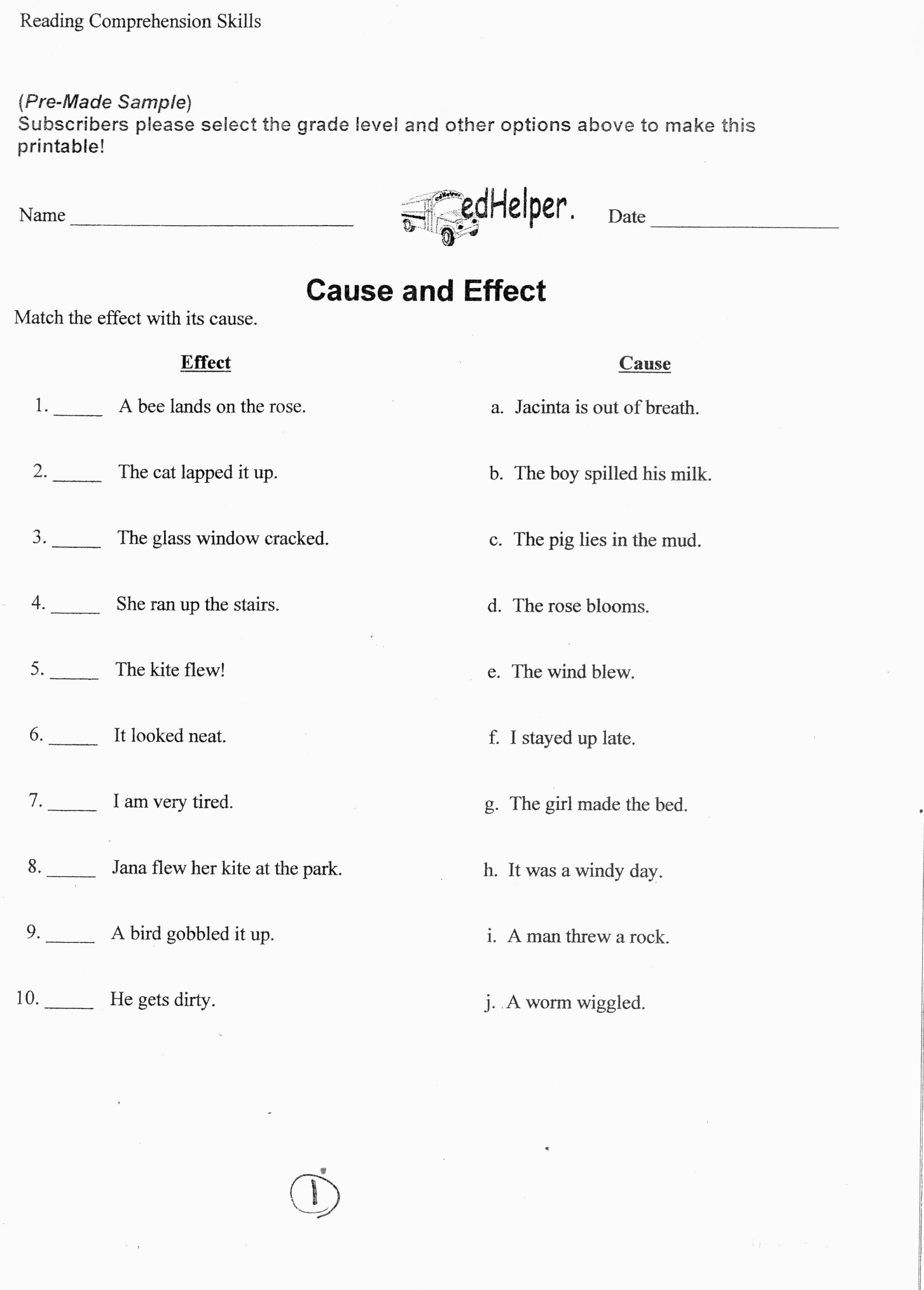 6th Grade Reading Worksheets Printable 6th Grade Lessons Middle School Language Arts Help Ela