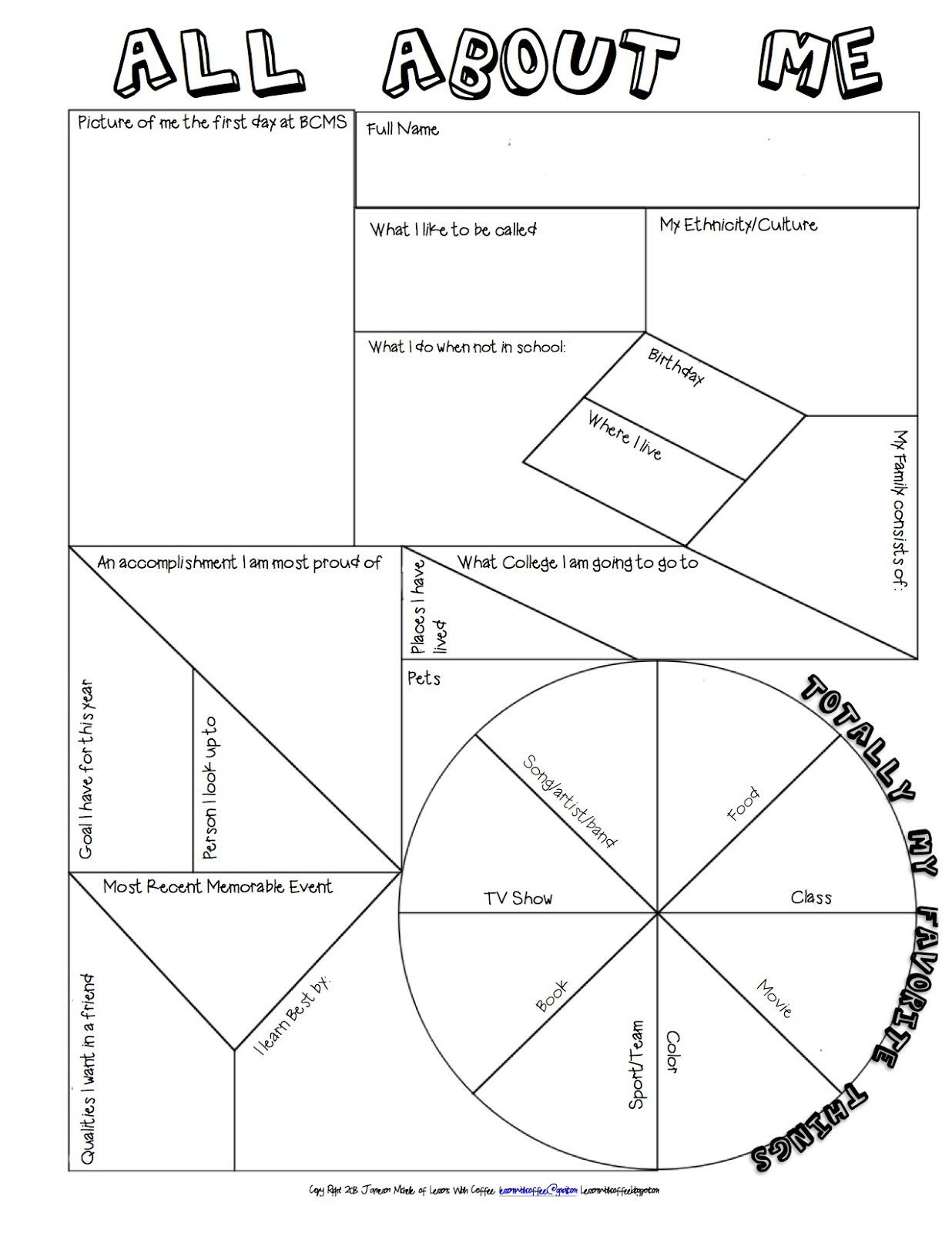 8th Grade Math Vocabulary Crossword Back to School First Activity Idea Middle Year Plan and