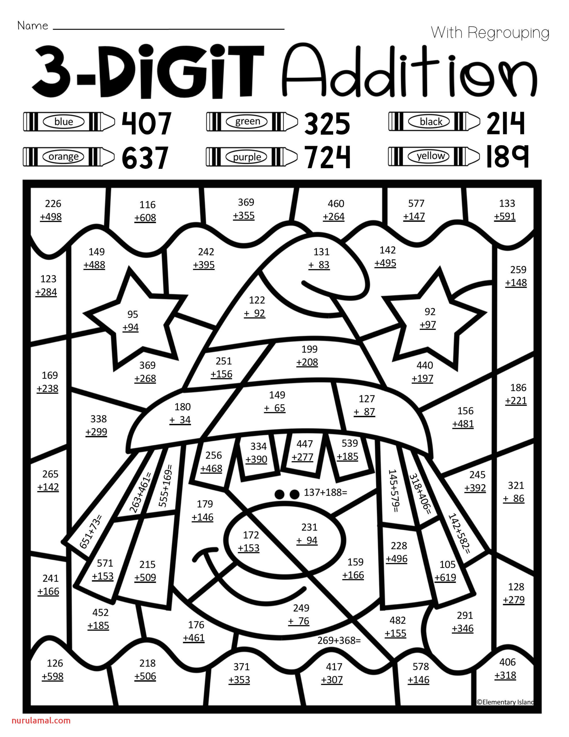 Addition Coloring Worksheets 2nd Grade Coloring Book Addition Turkeyeets Printable and Activities