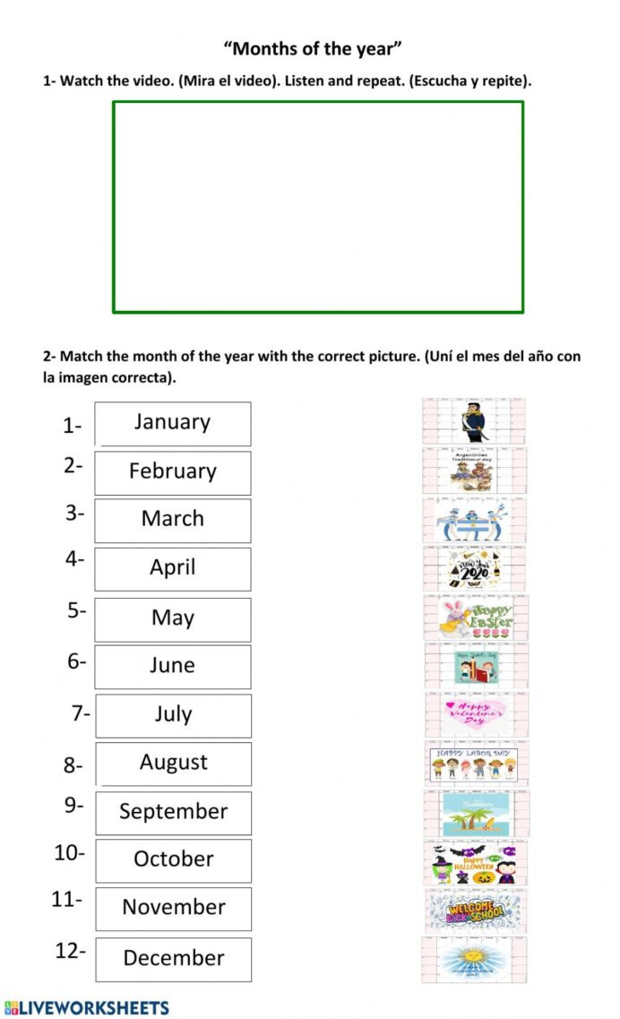 Circle Graphs Worksheets 7th Grade Months the Year English as Second Language Esl Exercise
