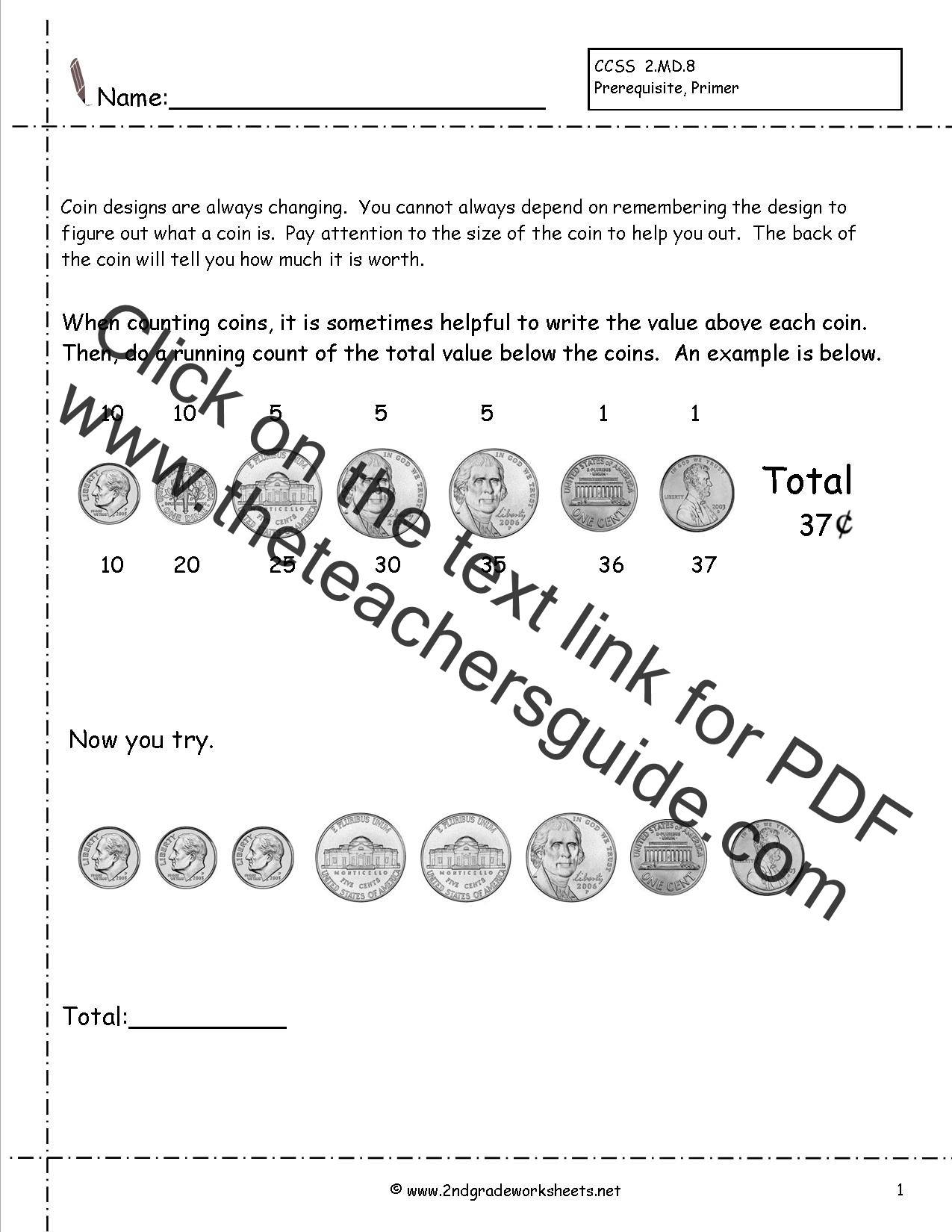 Coin Worksheets for 2nd Grade Adding Money Worksheets 2nd Grade Making Money Kenya