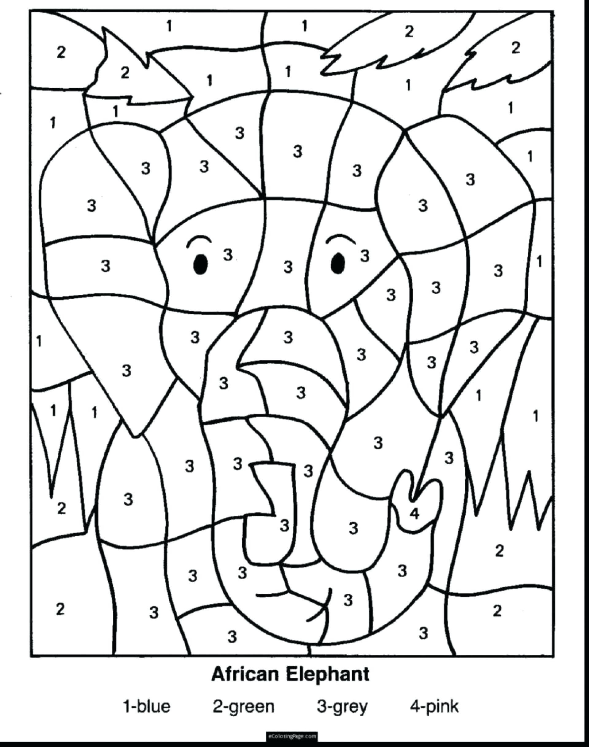 Coloring Worksheets for 2nd Grade Coloring Pages Free Second Grade Math Third Problems Line