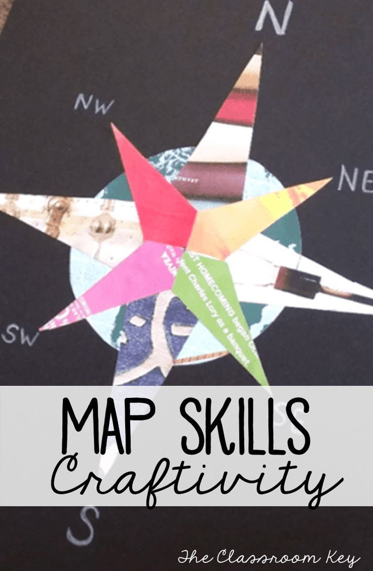 Compass Rose Worksheets Middle School Teaching Map Skills