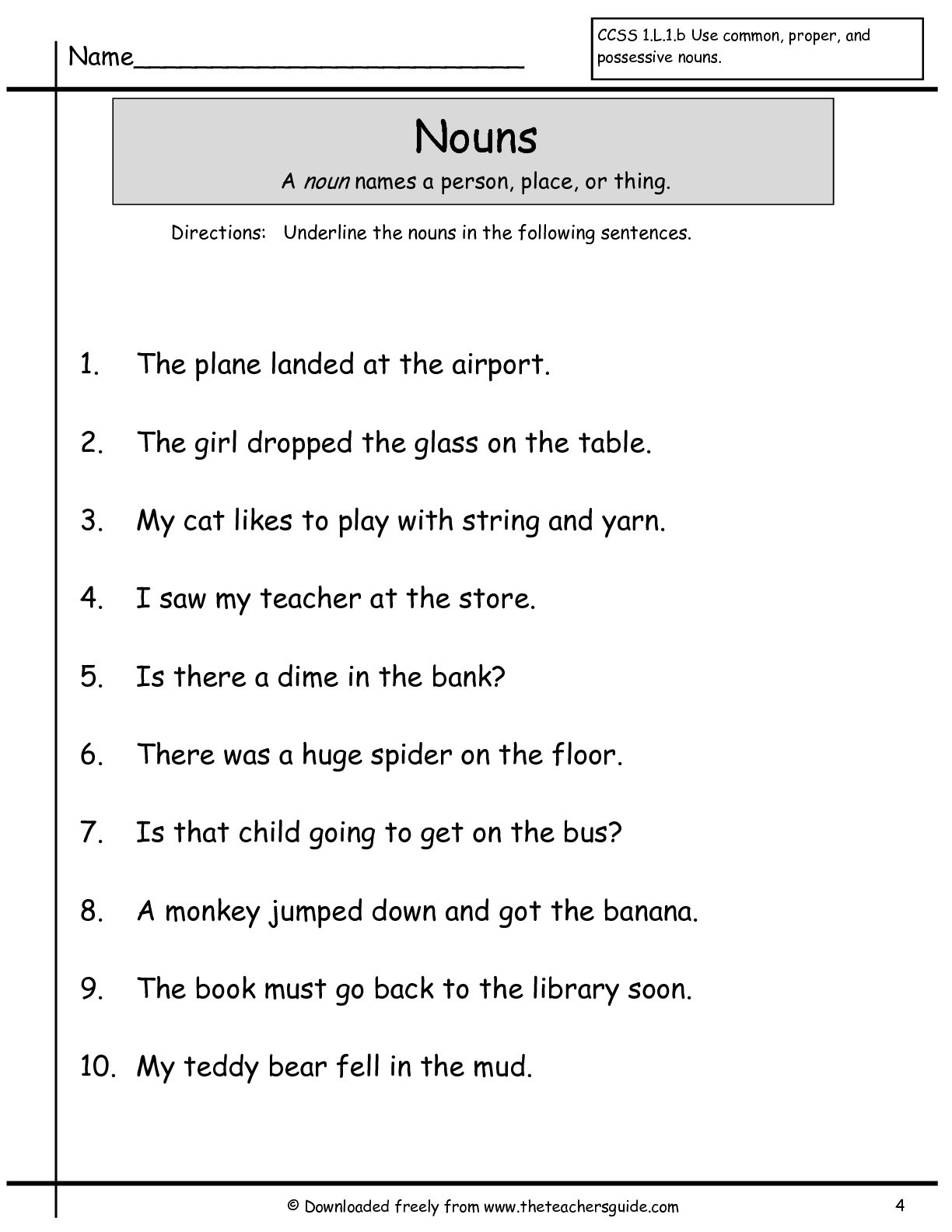 Complete Sentence Worksheets 1st Grade Mcgraw Hill Wonders 1st Grade Resources and Printouts for