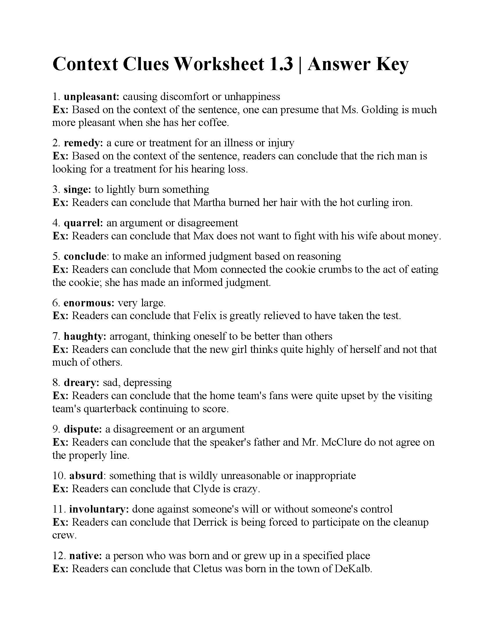Context Clues Worksheets 1st Grade Free touch Math Worksheets Math Worksheets Double Digit