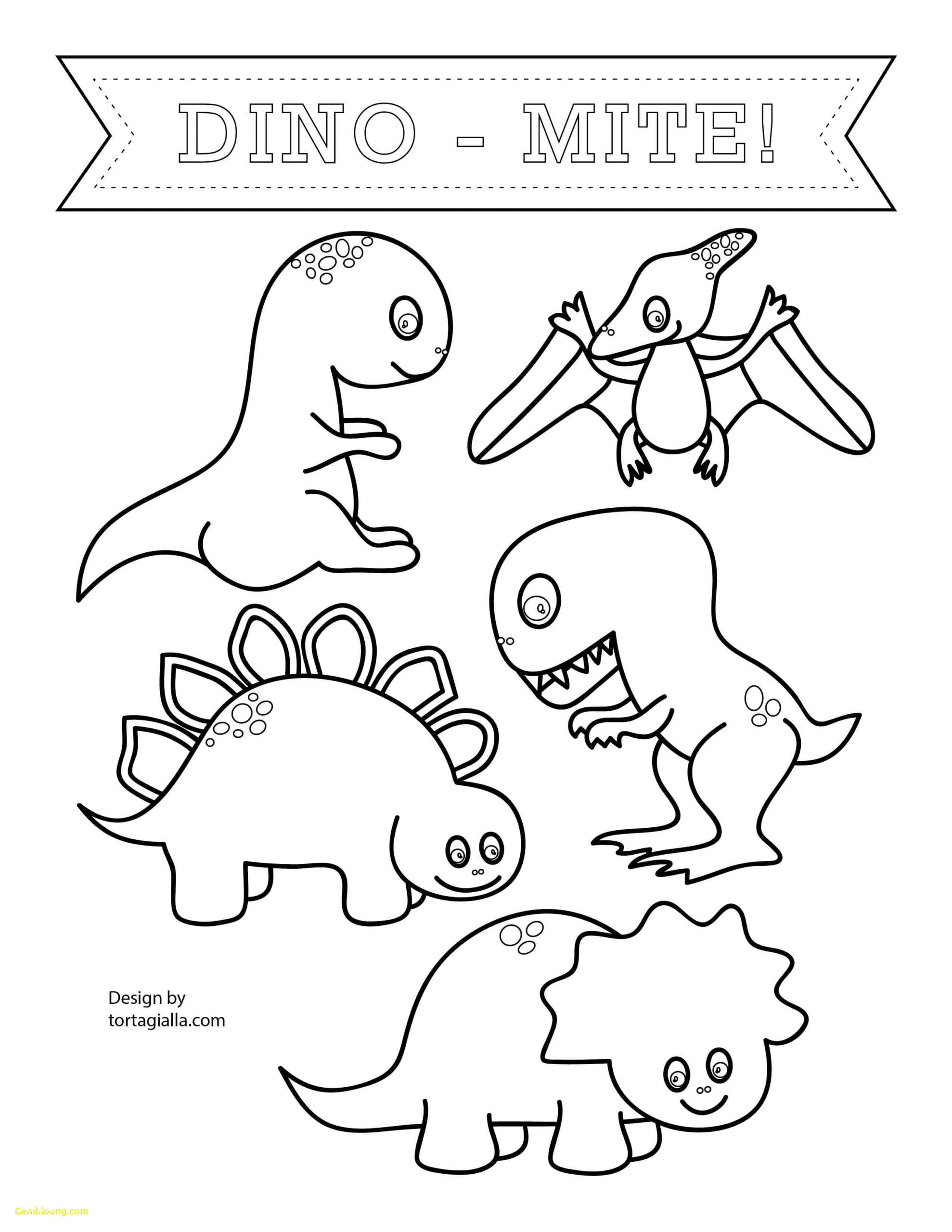 Dinosaur Worksheets for Preschoolers Coloring Pages Dinosaur Colouring Book Printable Beautiful
