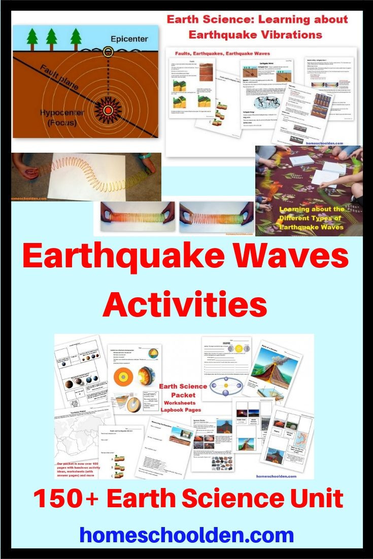 Earthquake Worksheets Middle School In Our Earth Science Unit We Learned About Earthquakes and