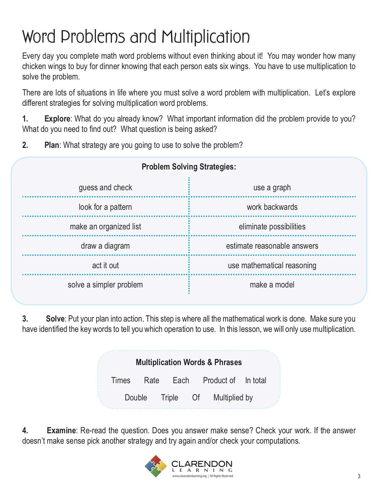 Estimating Word Problems 3rd Grade Worksheets Word Problems and Multiplication Worksheet 3rd