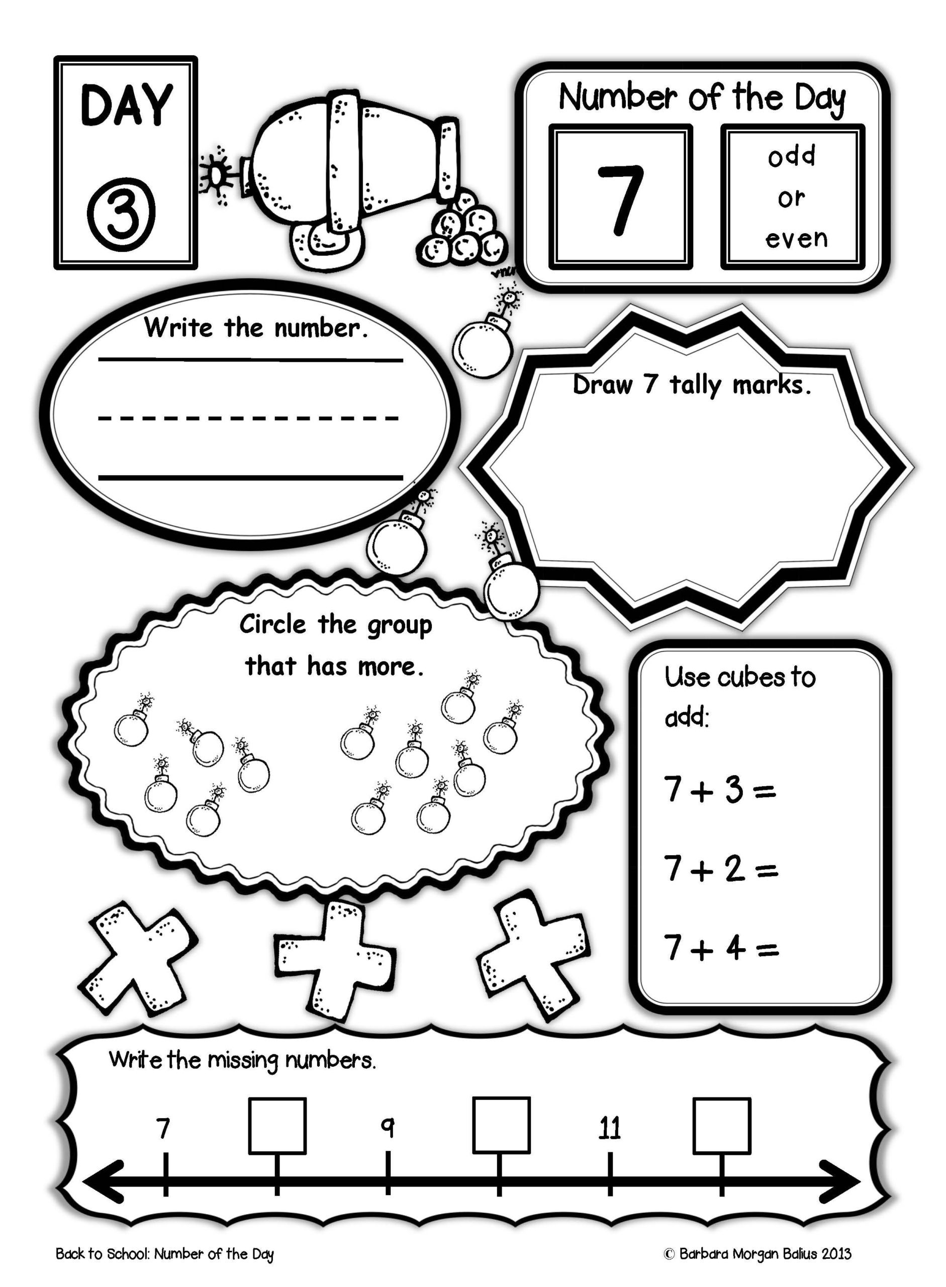 First Grade Graphing Worksheets Number the First Grade Back to School Math Pirate Third