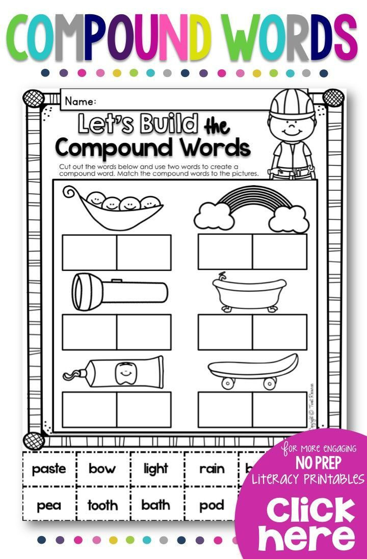 First Grade Vocabulary Worksheets Pin On Teach