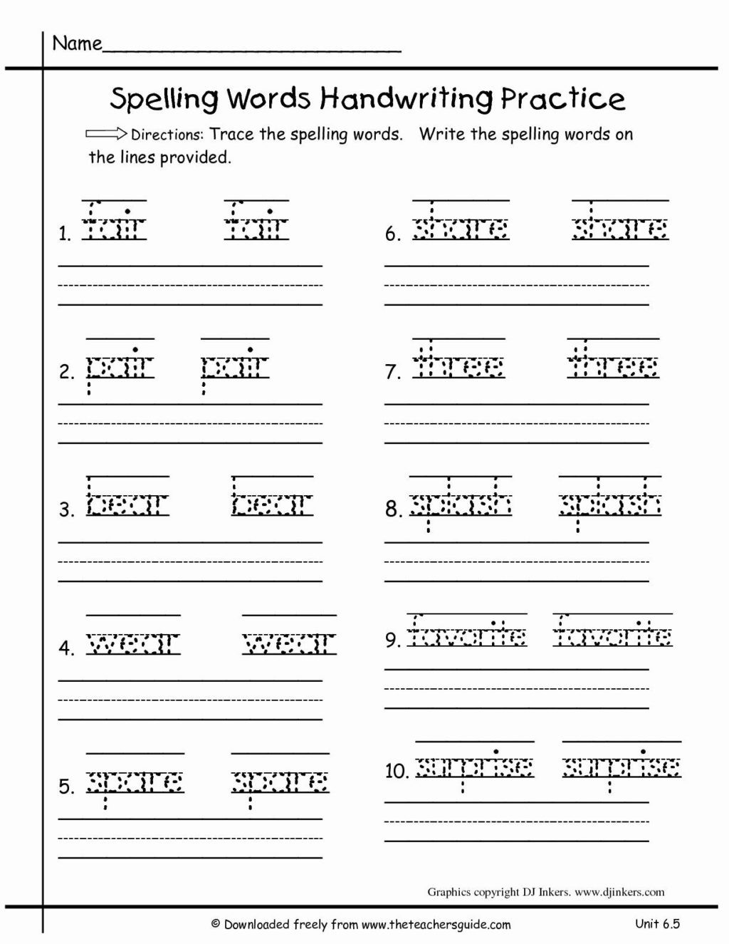 Free Printable Punctuation Worksheets Worksheet Language Arts Worksheets Printable and Worksheet