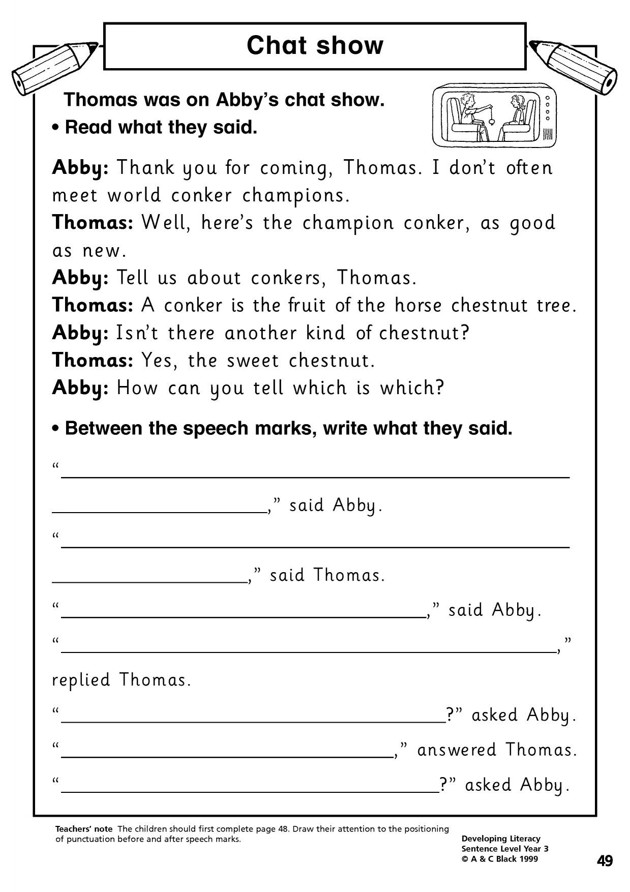 Free Printable Punctuation Worksheets Writing Punctuation Worksheet