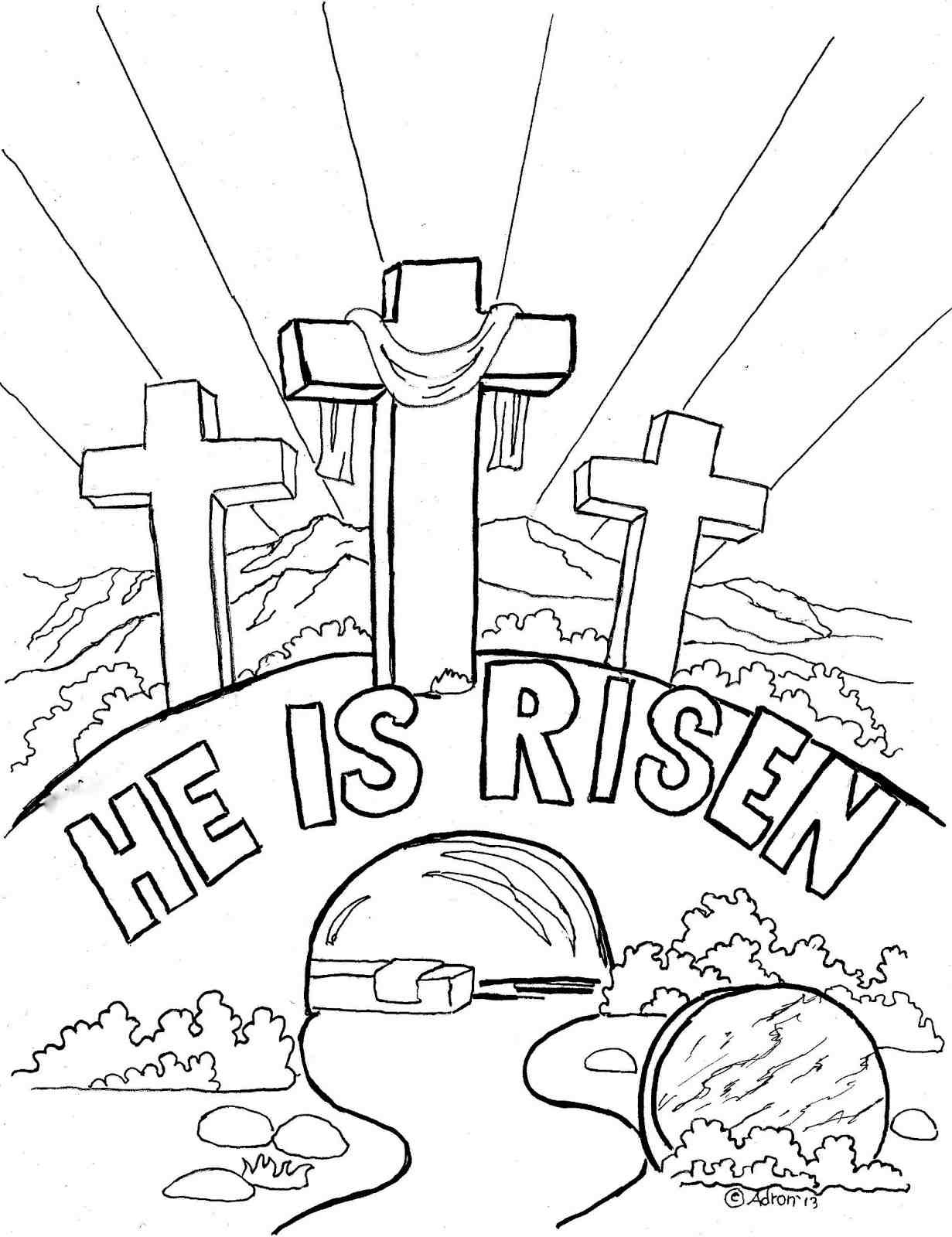Free Printable Religious Worksheets Free Childrens Christian Coloring Pages Printable for Kids