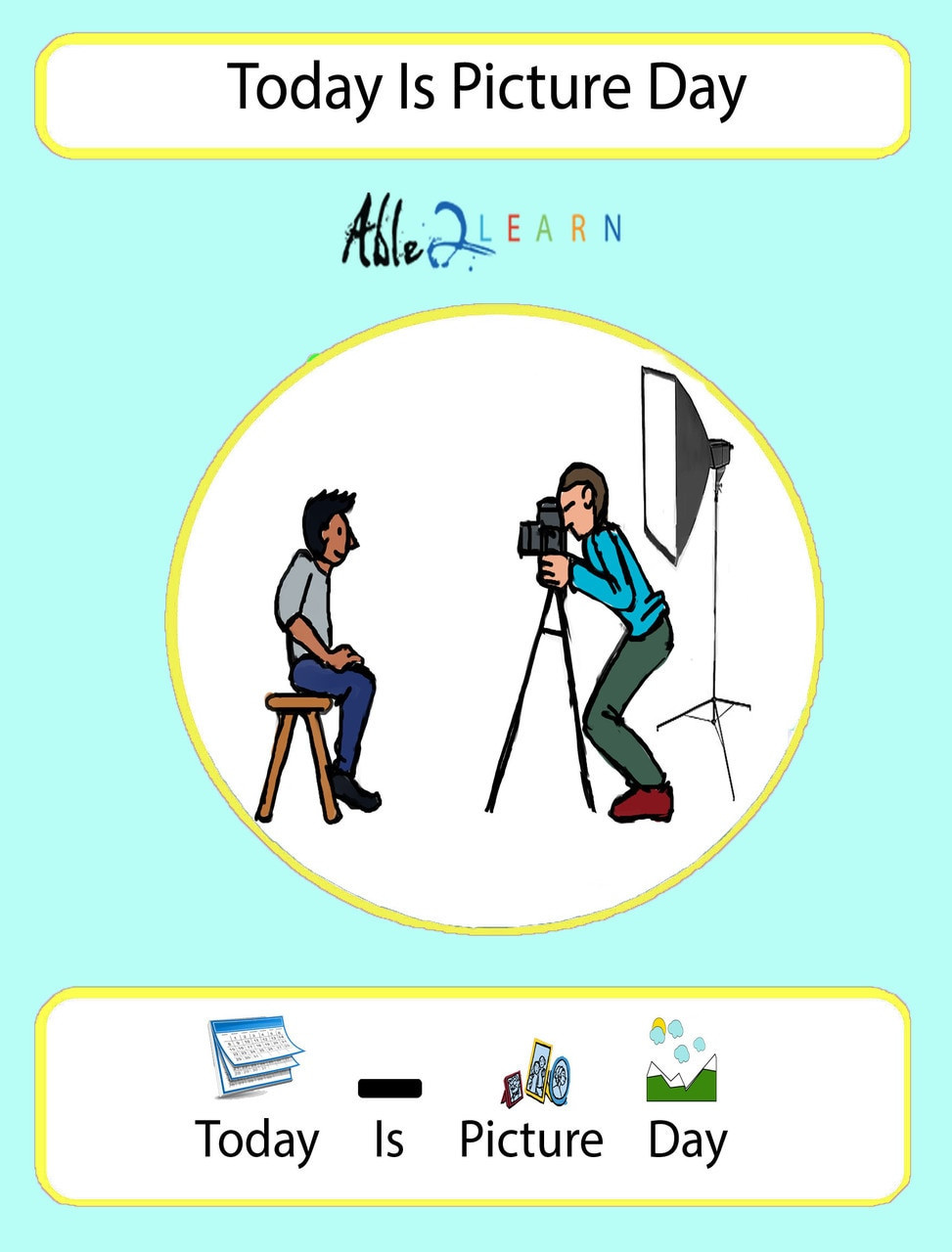 Free Printable social Stories Worksheets Picture Day at School social Story Pages 9
