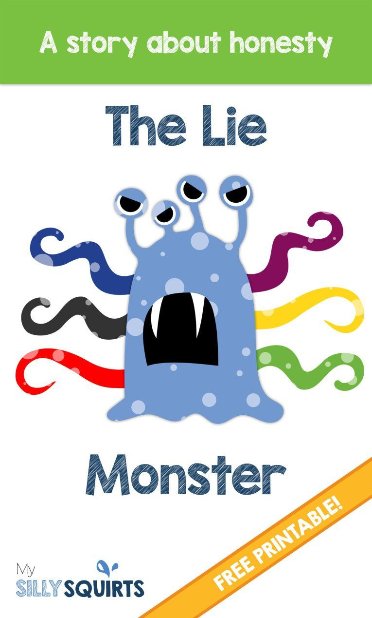 Free Printable social Stories Worksheets the Lie Monster A Free Printable Story About Honesty