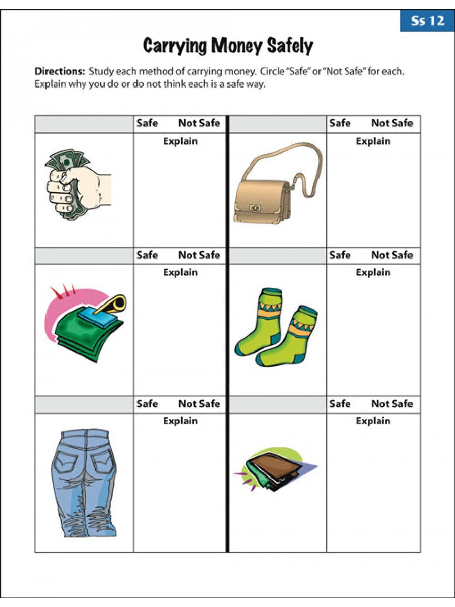 Functional Math Worksheets Special Education Amusing Empowered by them Life Skills Worksheets to