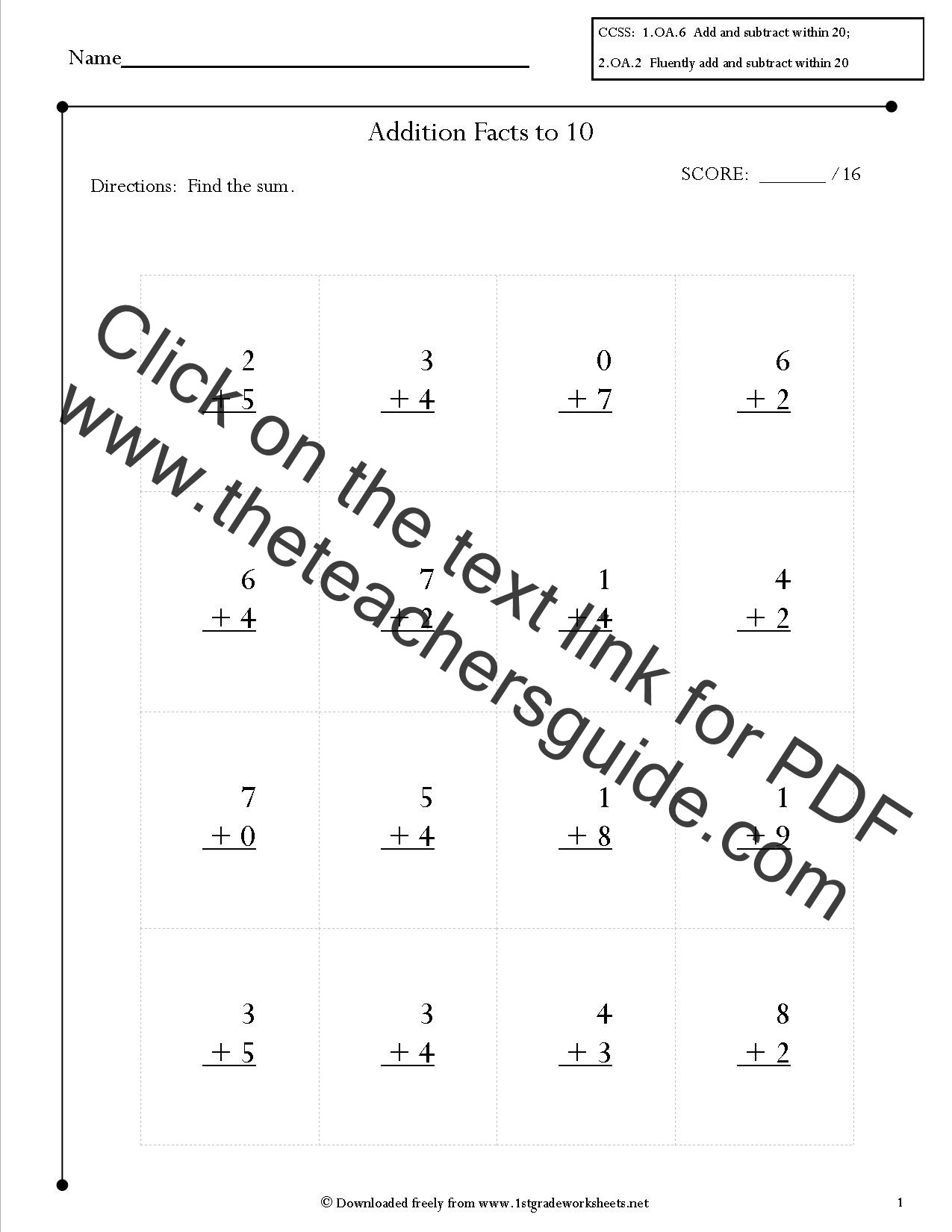 Geometric Shapes Worksheets 2nd Grade 2nd Grade Math Mon Core State Standards Worksheets