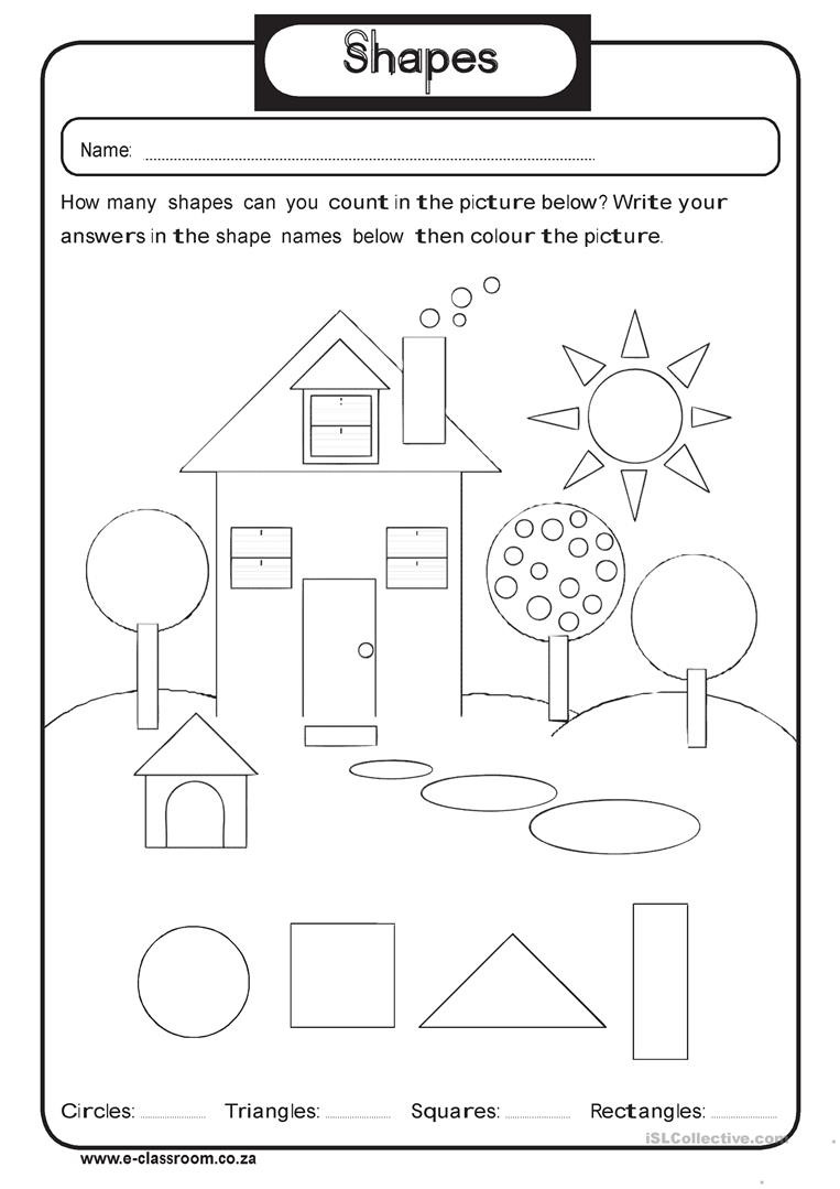 Geometric Shapes Worksheets 2nd Grade 2nd Grade Shapes Barbara Pentikis Lessons Tes Teach