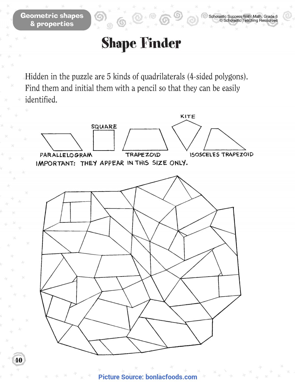 Geometry Worksheet 2nd Grade Find these 2nd Grade Geometry Posters for Free Modeled