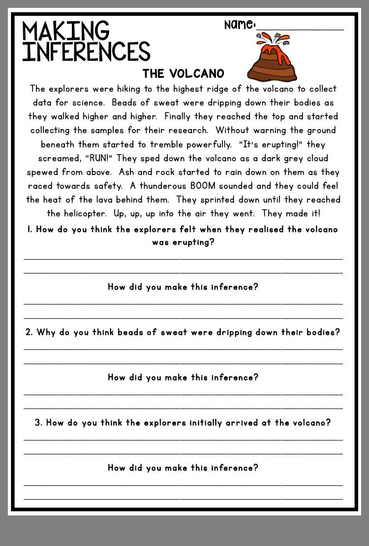 Making Inferences Worksheet 4th Grade Pin by Stephanie Pugh On Inference