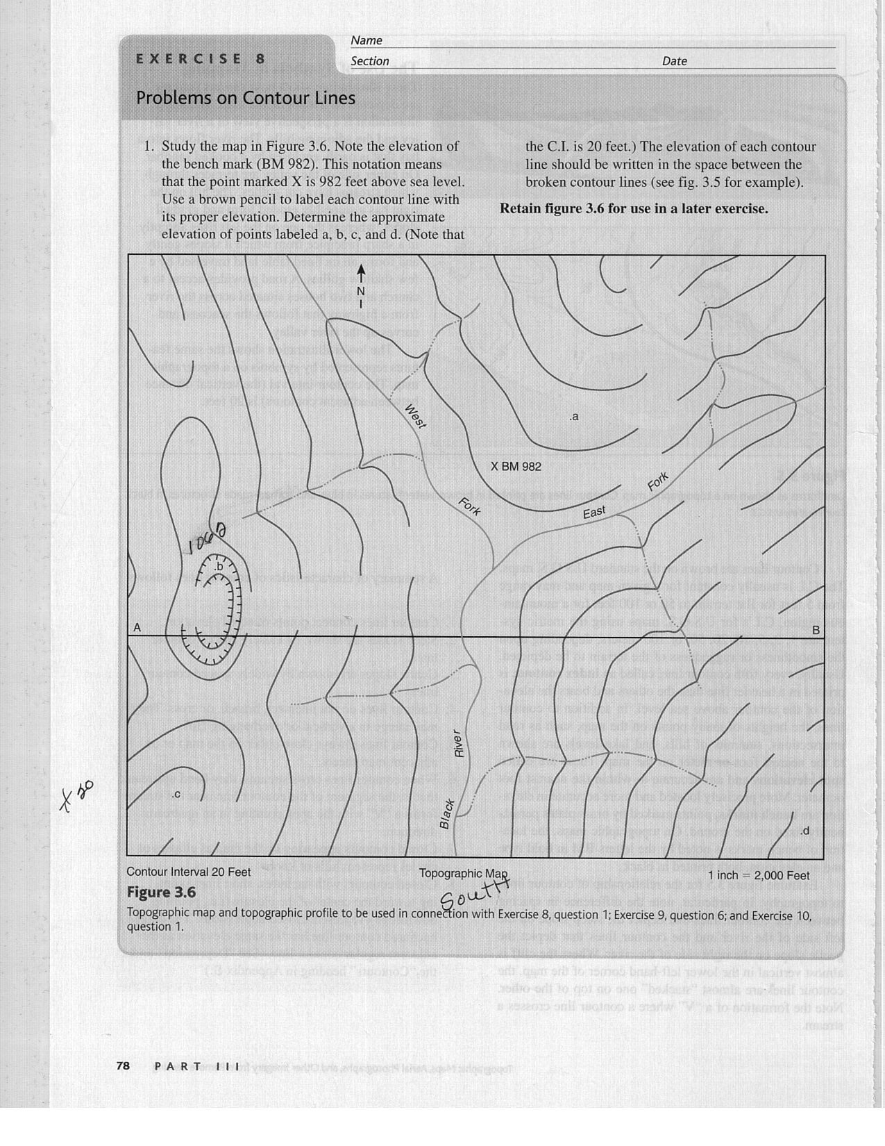 Map Skills Worksheets Middle School Map Reading Exercises