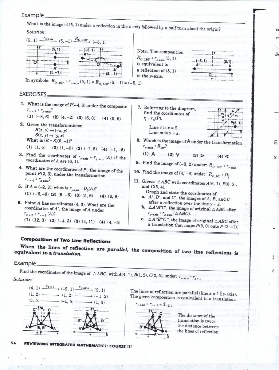 Math Aids Reflections Measuring Angles Worksheet Math Worksheets Geometry Year