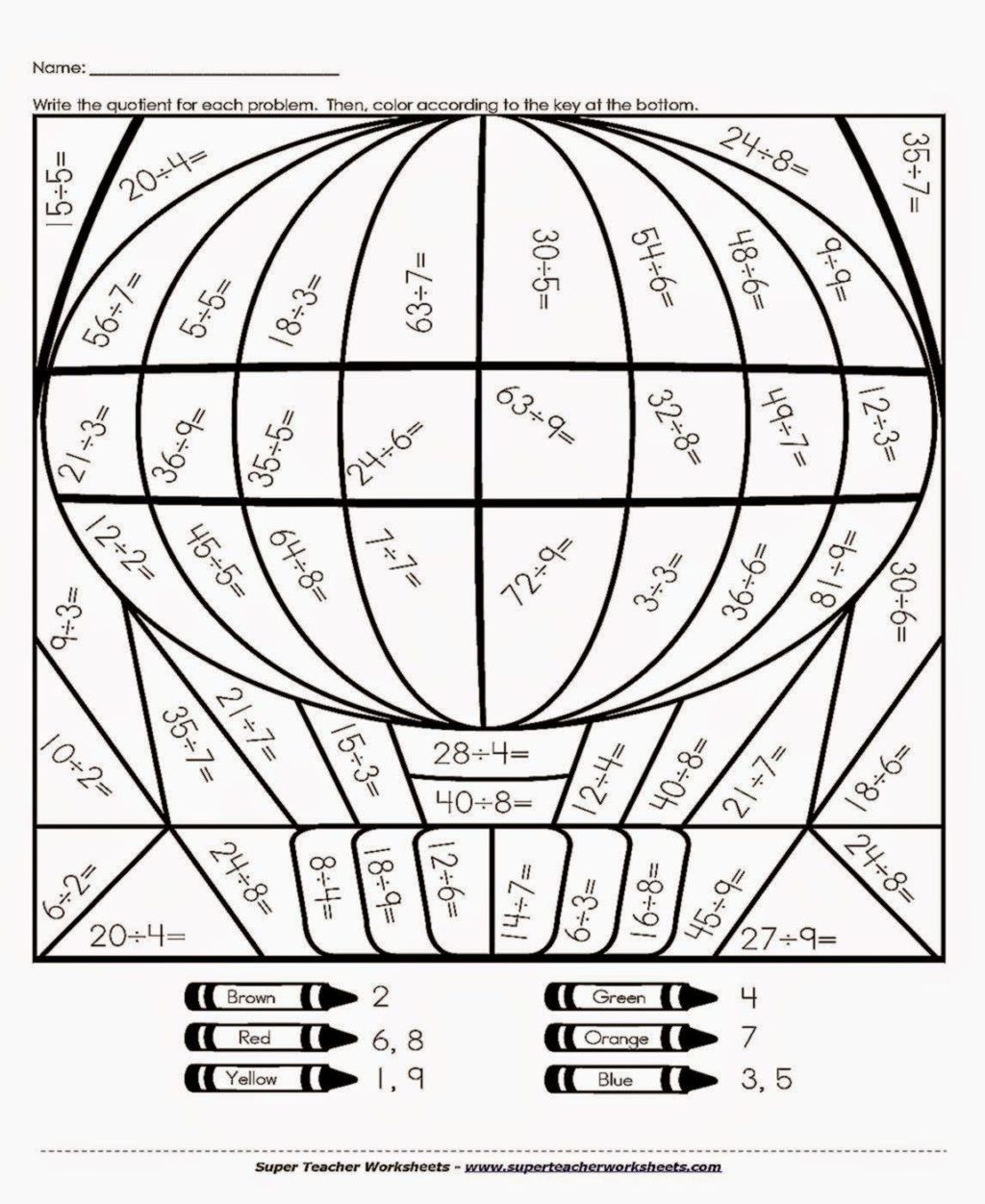 printable coloring pages for 7th graders th grade math colouring 5