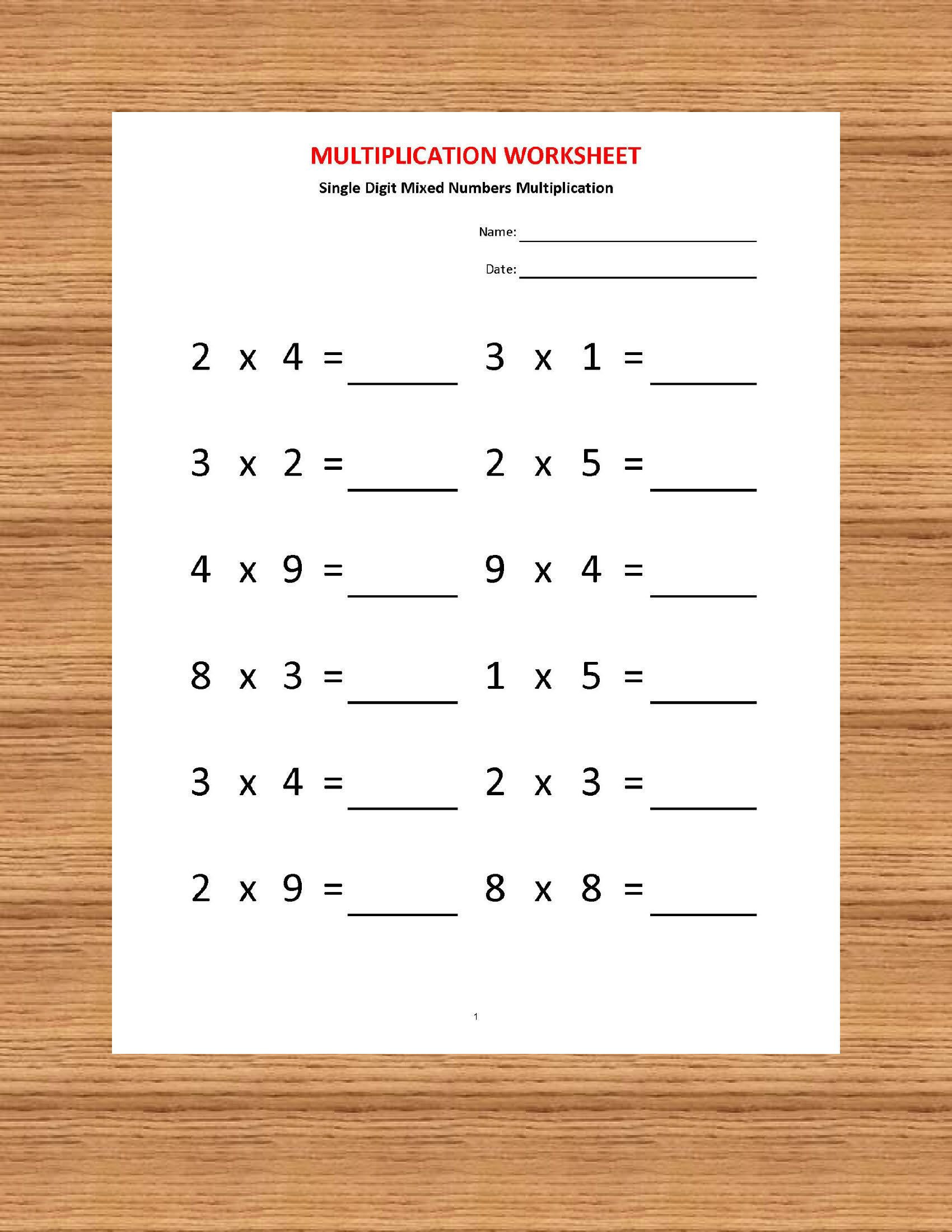 Multiplication Worksheets Grade 4 Pdf Multiplication Worksheets Printable Worksheets